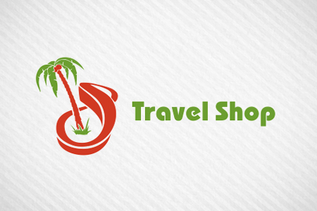 Travel Shop: логотип