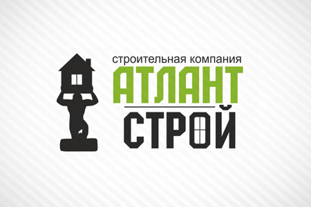 Атлант Строй: логотип