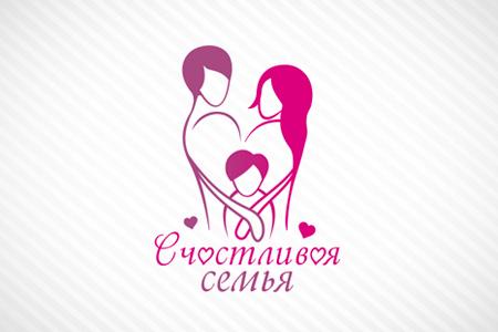 Счастливая семья: логотип