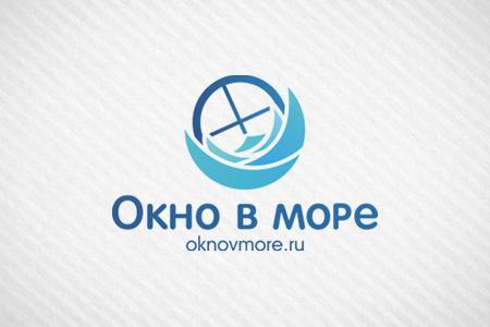Окно в море: логотип